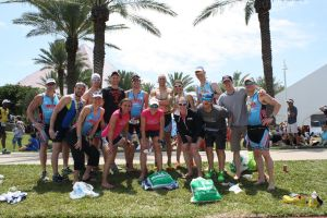 QT2 Team at IM 70.3 TX