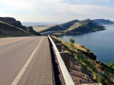Amazing training ride along Horsetooth Reservoir, just a few minutes from where we were staying in Ft Collins