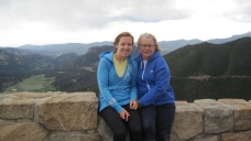 My Mom and I at Rocky Mountain National Park