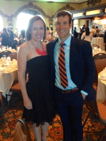 At the wedding - We clean up well!