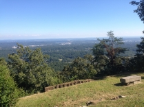 View from a ride up on Signal Mountain - the picture doesn't do it justice!