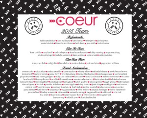 2015 Coeur Team
