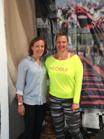 Hanging out with Kebby at Coeur HQ!