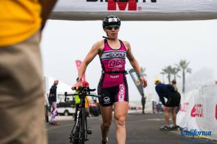 Swim-bike transition. Photo cred: California Triathlon
