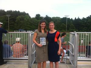 Jill and I at her Hall of Fame induction